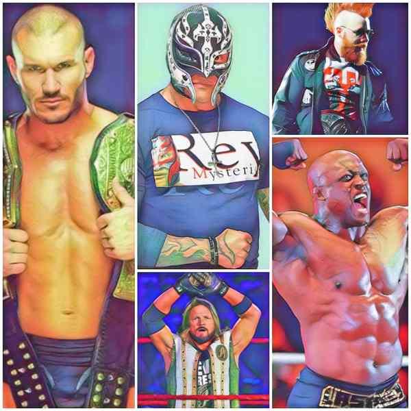 WWE के 5 सबसे उम्रदराज फुल टाइम रेसलर्स।