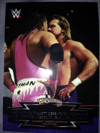 Classic Wrestlemania Matches #5 of 30 - Topps 2015