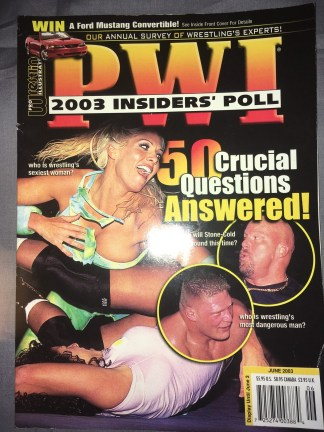Pro Wrestling Illustrated June 2003 Torrie Wilson