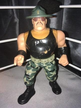 Sargent Slaughter - WWF Hasbro