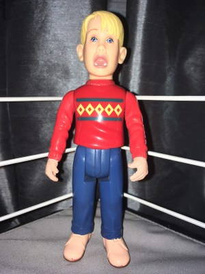 THQ 1991 Screaming Kevin Home Alone Toy