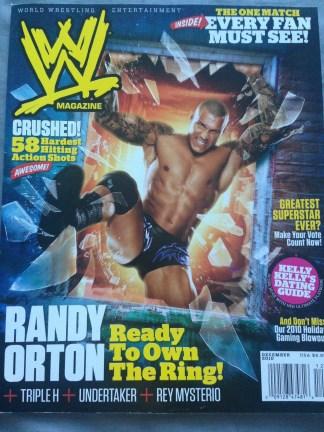 WWE Magazine December 2010 - Randy Orton