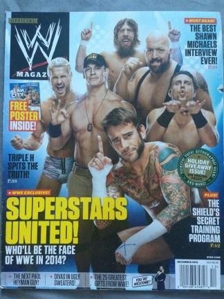 WWE Magazine December 2013 - Superstars United