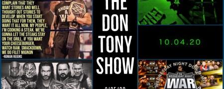 The Don Tony Show (SD) 09/25/2020