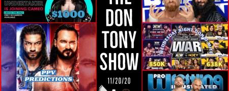 The Don Tony Show (SD) 11/20/2020