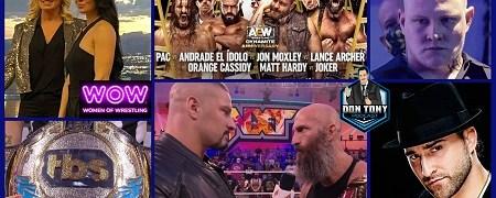 AEW Dynamite 10/6/21 + NXT 10/5/21 Review / Hangman Page Returns / AEW Creates TBS Women's Title / AJ Mendez Joins WOW (Wednesday Night Don-O-Mite (EP108)