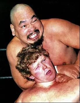 Bob Backlund and Killer Khan - wrestlingbiographies.com