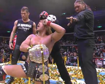 新日本プロレスIWGPチャンピオンベルト