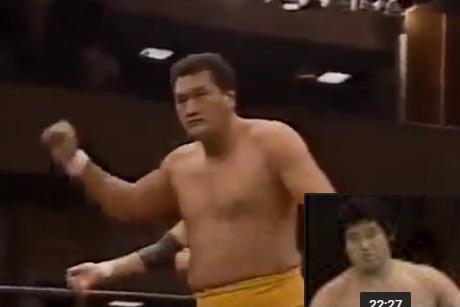 横綱輪島大士プロレスラー転身