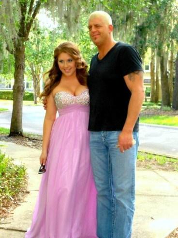 Dakota Avery and her father