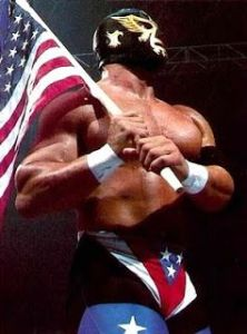 The top guy for the GWF, the Patriot.