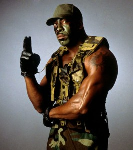 GI Bro when Booker brought the gimmick back for a moment in 2000.