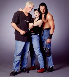 David Flair, Daffney and Crowbar. Unstable.