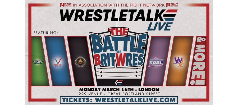 "WrestleTalk Goes Live with ""The Battle of BritWres"""