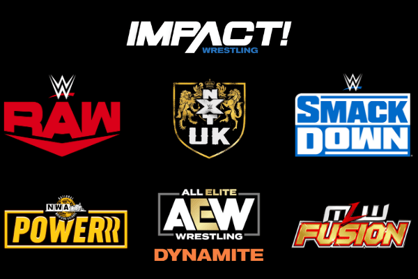 Major Wrestling Promotions Available to Watch For Free in the UK