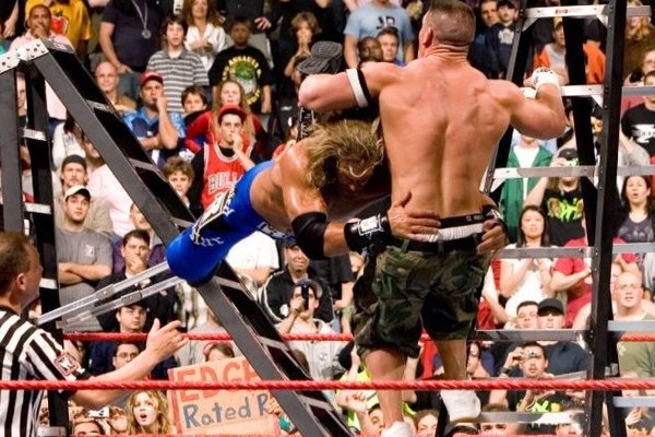 "Edge's Greatest Matches: Vs John Cena in a TLC Match at ""Unforgiven 2006"""