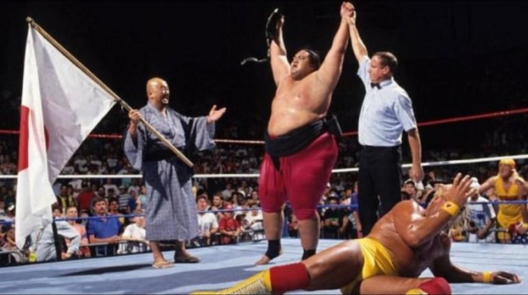 Hogan Yokozuna King of the Ring