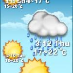 【部落格小玩意】未來五日天氣預報小掛件