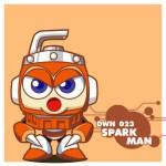 DWN023 SPARK MAN