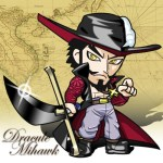 One Piece -Mihawk flash小時鐘