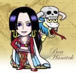 One Piece -Boa Hancock flash小時鐘