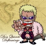 One Piece -Don Quixote Doflamingo flash小時鐘