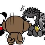 活力熊表情符號 三熊圖
