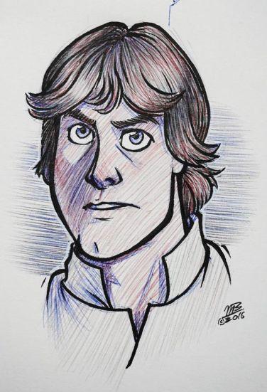 Luke Skywalker (Mark Hammill)
