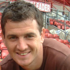 2005: Chris Llewellyn scores in a 2-1 loss to Blackpool.