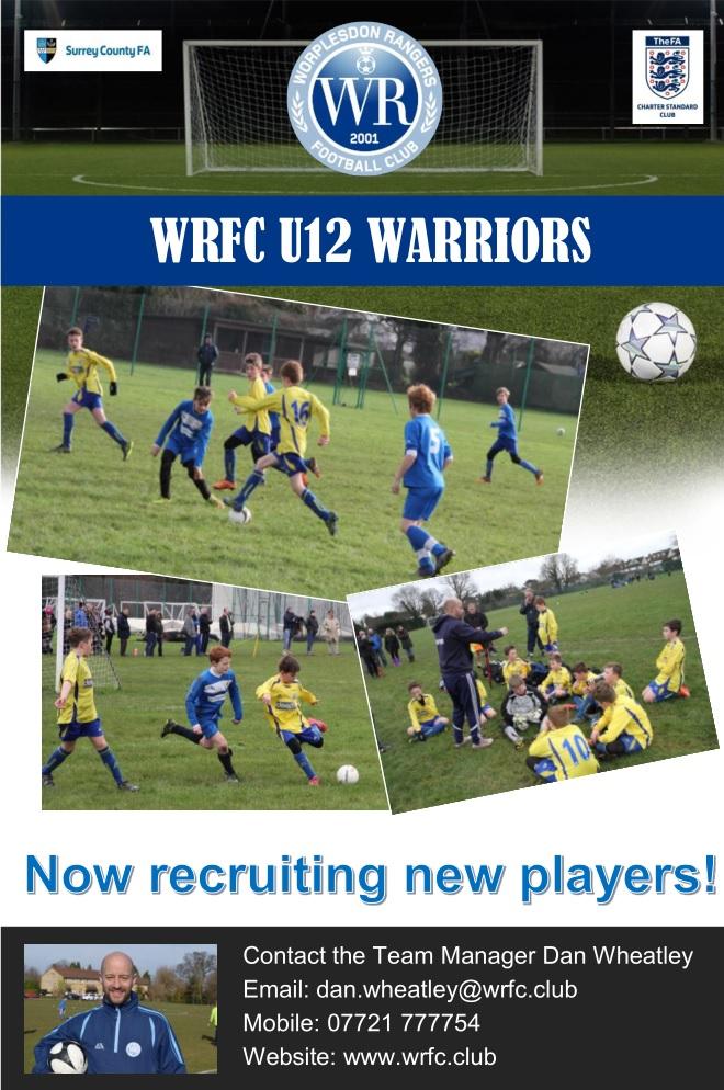 U12 Warriors File