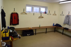 WPFC Pavilion Changing Rooms