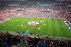 Inside the Allianz Arena