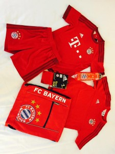 FC Bayern Munich Training Kit