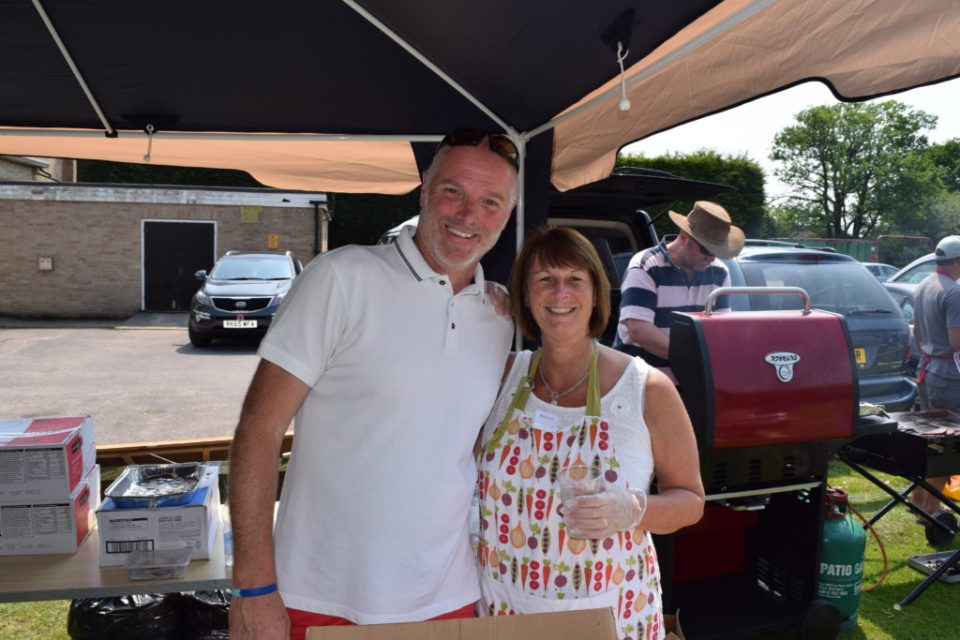 Colin Hobson and Carol Pott Of The WRFC U12 Catering Corps