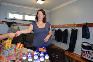 Julie Rowlands, Manager of the Northmead Tuck Shop