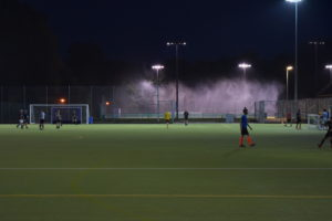 The All-Weather Floodlit Pitches at Broadwater