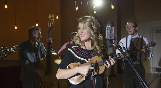 Mountain Faith band performs for WCU's annual holiday video greeting