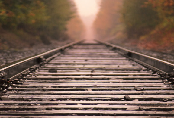 Warning: Stay Off The Railroad Track