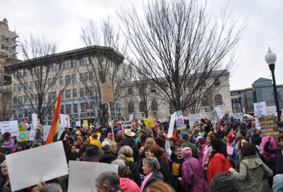 Women's March on Asheville Photos