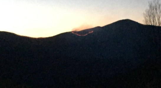 Cold Mountain Fire