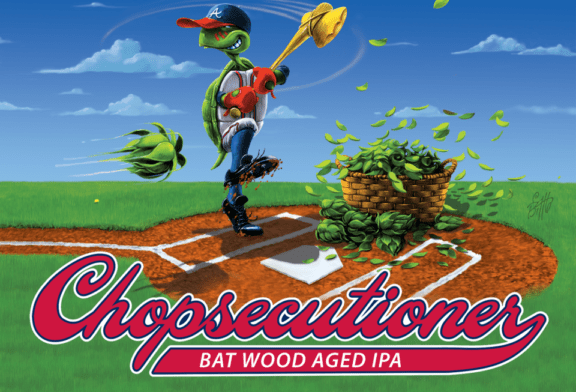 The Atlanta Braves' Ballpark Is Selling Beer Brewed From Baseball Bats