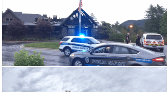 Explosion, Fire Sweeps Sapphire Valley Country Club
