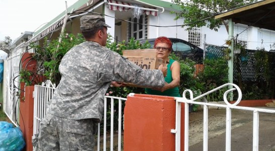 N.C. National Guard Engineers and Communications Team in Puerto Rico to aid in recovery