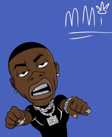 Dababy Cartoon : dababy, cartoon, Former, Student,, Hines,, Viral, Rapping, DaBaby, Stampede