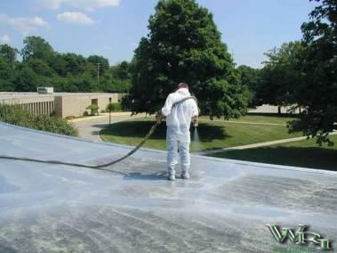 Polyurea Over Membrane Roofs
