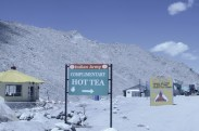 Yes! Life saver, just like Indian Army. Changla Pass.