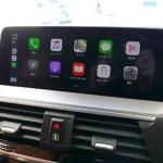 (Edit G01 X3 – 2)Apple CarPlayフルスクリーンの導入