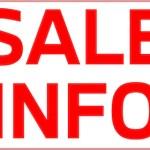 (7月までの期間限定)セール情報