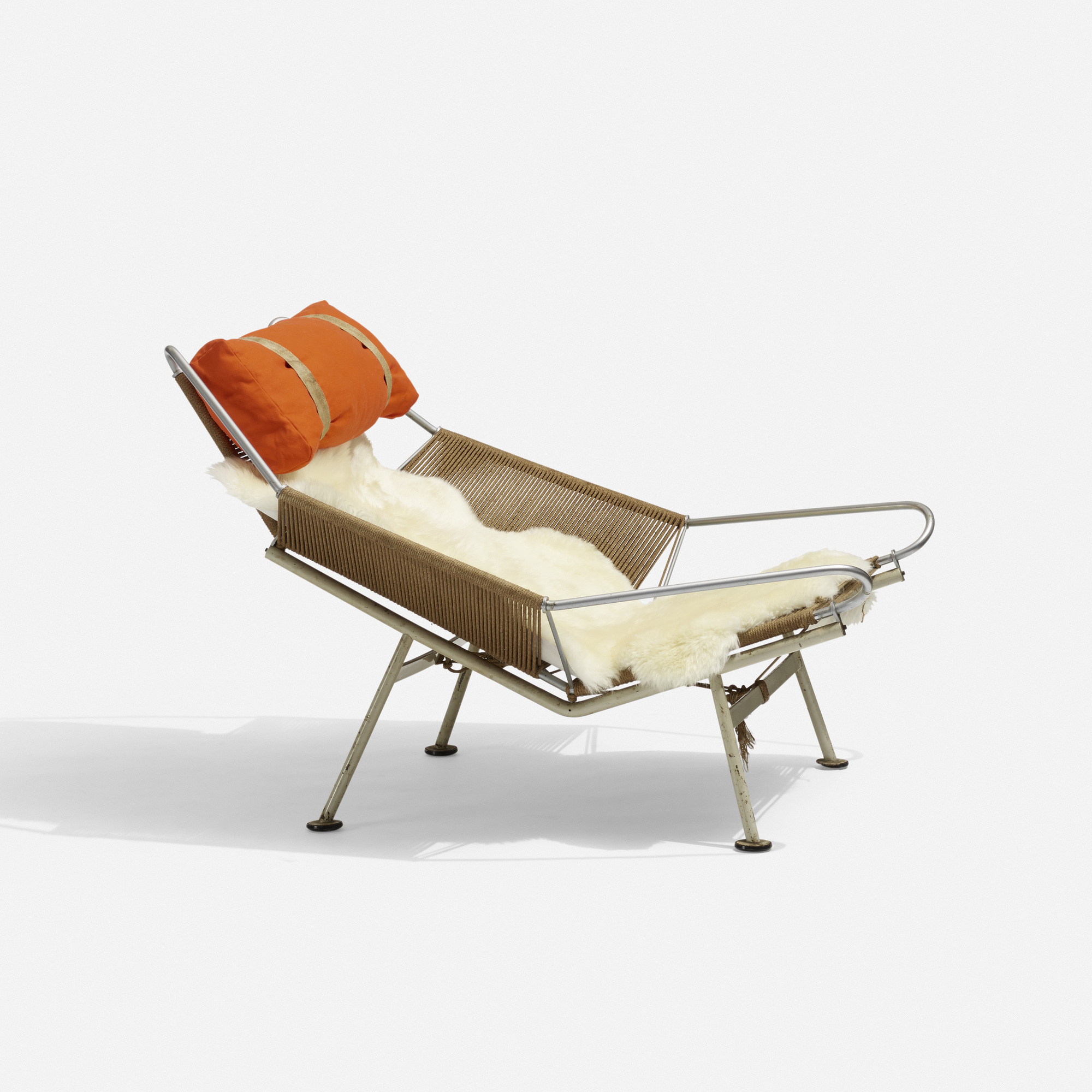 Flag Halyard Chair 105 Hans J Wegner Flag Halyard Lounge Chair