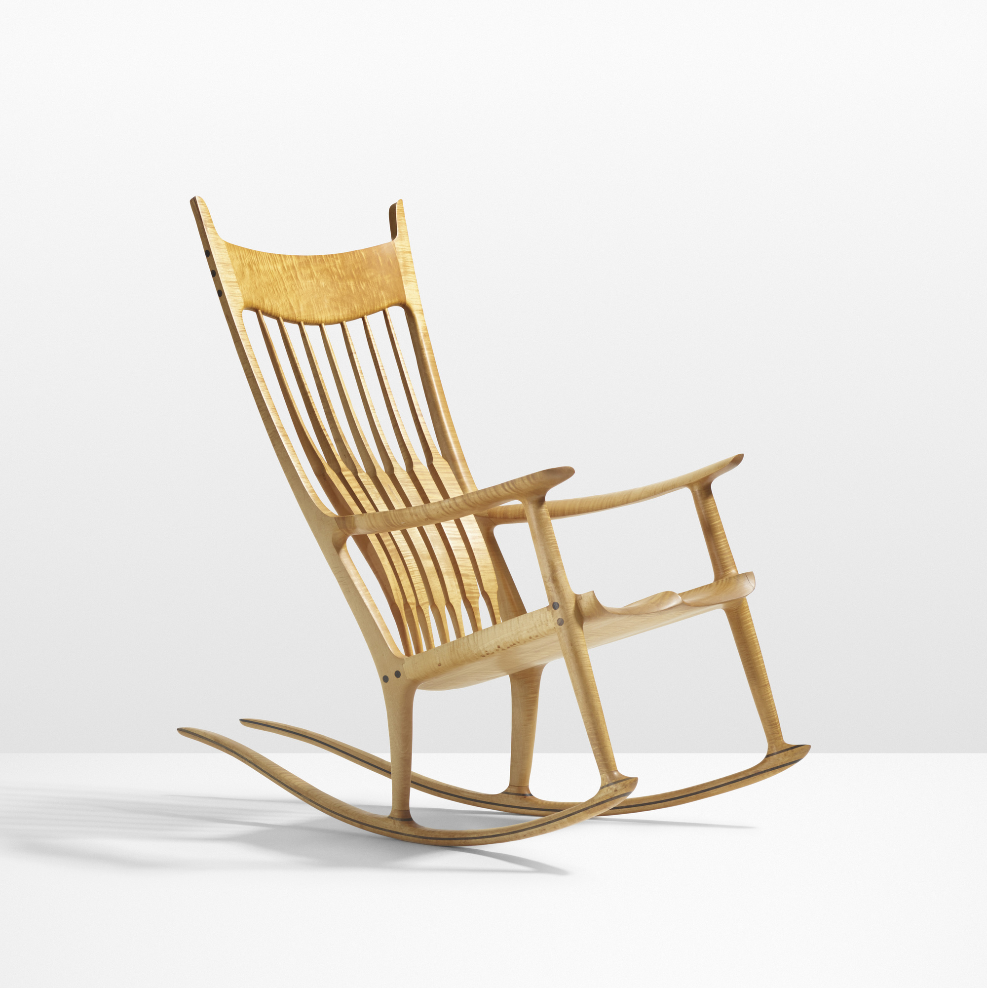 Rock Chair 38 Sam Maloof Exceptional Rocking Chair